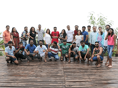 Our very dear Artifamily! ArtiStars in their own swag and style. Taare zameen par!